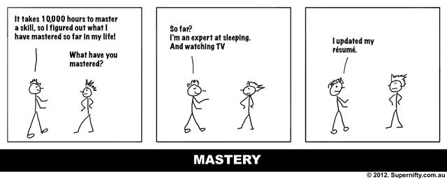 mastery comic