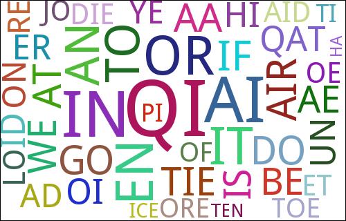 Speed Scrabble popular words